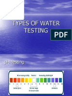 TYPES OF WATER TESTING.ppt