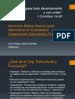 Org Estructural y Funcional