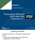 12 - Perancangan Multimedia Untuk World Wide Web