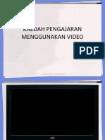 Kaedah Pengajaran Menggunakan Video
