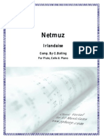 Bolling, Claude - Irlandaise Jazz Para Flauta, Chelo & Piano (Score Y Parts)[1]