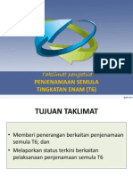 PENJENAMAAN SEMULA T6