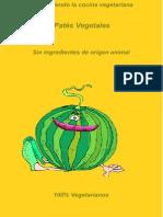 Recetas Veganas - Pates Vegetales