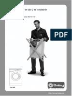 Lavadora Balay Tw 860 Manual Usuario