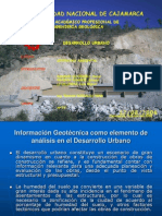 Geotecnia -Desaroollo Urbano