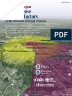 National Capital Region - Key Response Planning factors for the Aftermath of Nuclear Terrorism