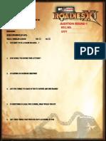 Roadiesx1 Auditon Form