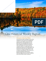 One Financial Weekly Report - 0406 Through 0411