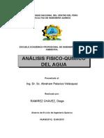 Analisis de Agua-Ramirez Chavez Diego