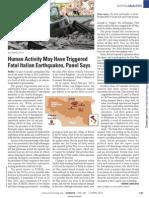 Italian earthquake study_Science