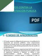 1.- DELITOS CONTRA LA ADMINISTRACIÓN PÚBLICA - 2012 .ppt
