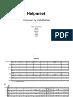Helpmeet (full score)