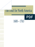 6 - The Duel for North America, 1608-1763