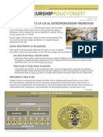 Entrepreneurship Policy Digest