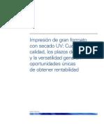 White-Paper-Impresión de gran formato Con Curado UV