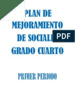 Plan de Mejoramiento Sociales (1) CUARTO