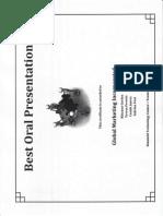 sabrina fout certificate - best oral presentation teamwork project