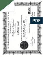 sabrina fout certificate - adobe photoshop cs6