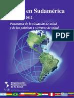 OPS - Salud en Sudamérica - Panorama de la situación de salud y de las políticas y sistemas de salud