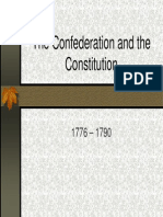 9 - The Confederation and the Constitution, 1776 - 1790