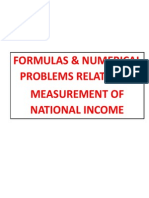 National Income Formula and Numericals