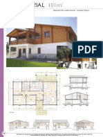 Construccion - Casas de Madera - Planos