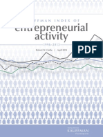Kauffman Index of Entrepreneurial Activity, 1996-2013