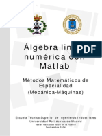 Algebra Lineal Numeric a Con Mat Lab