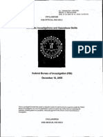 "FBI  ""Domestic Investigations and Operations Guide."""