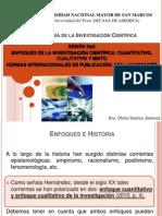 PPT ENFOQUES DE LA INVESTIGACIÓN 02