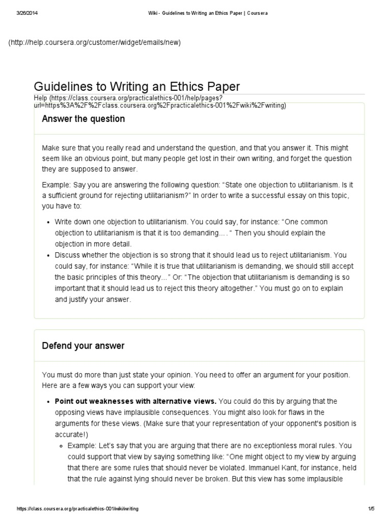 Writing an ethics paper custom dissertation writing services