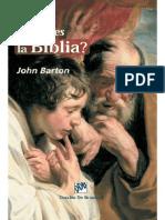 Barton John Que Es La Biblia