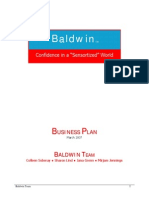 Baldwin Business Plan