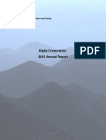 Digby Corp 2021 Annual Report