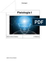 Fisiologia I. Bloque 1-Introduccion a La Fisiologia