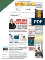 Abbas Güçlü_ Başbakan Erdoğan'ın elini öpeceğim