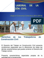 Regimen Laboral Constructoras