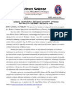 14-12 News Release - Manning's Record of Trial