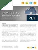 Monografico ISO 27001 ISOTools