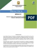 "4.- Modulo IV ""DIDÁCTICA"""