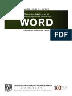 Manual_Elementos Basicos en El Procesamiento de Textos Con WORD_ver2010