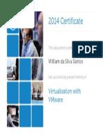 Certificado - Virtualização com VMware