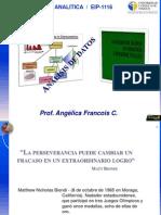 Analisis de datos en analisis químico