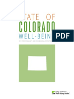 State of Colorado Well Being 2013