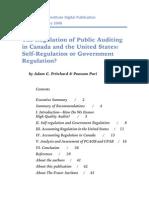 Regulation of Public Auditing