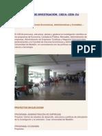 Centros de investigación de toda la Universidad de Medellín