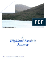 A Highland Lassie's Journey