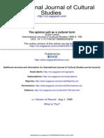 International Journal of Cultural Studies 1999 Lewis 199 221