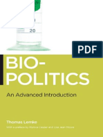 Biopolitics an Advanced Introduction Biopolitics Medicine Technoscience and Health in the 21st Century
