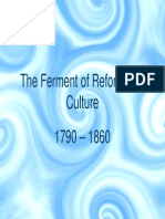 15 - The Ferment of Reform and Culture, 1790 - 1860